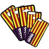 QFUNDAS Fundas De Moviles Carcasas De Moviles Funda Carcasa Modelo Bandera de Islas Baleares Compatible con iPhone 6 Plus