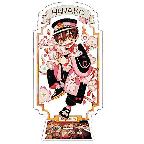 Miss House Toilet-Bound Hanako-kun Standing Figure,Acrylic Anime Desk Stand Miniature for Home Decor(H 15.5 cm Style 03)