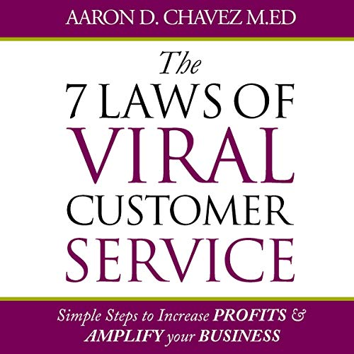 『The 7 Laws of Viral Customer Service』のカバーアート