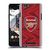 Official Arsenal FC Home 2020/21 Crest Kit Soft Gel Case