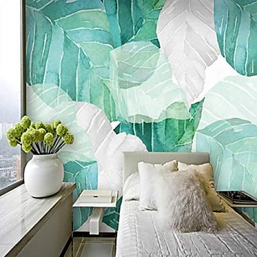 Tapete/Wandbild Leinwand Wandverkleidung - Klebstoff erforderlich Botanical/Art Deco / 3D@312 cm * 219 cm