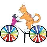Premier Kite pk26853Wetterhahn Katze auf Fahrrad, Mehrfarbig, 40,6x 8x 110cm