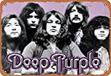 Deep Purple 3 Jahrgang Blechschild Kunst Eisenmalerei