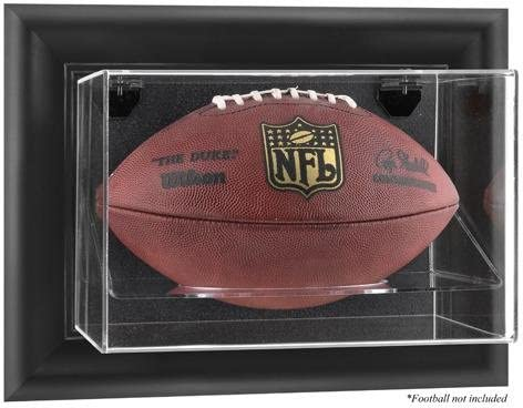 Black Quality inspection Framed Wall-Mountable Football - Brand Cheap Sale Venue Dis Case Display