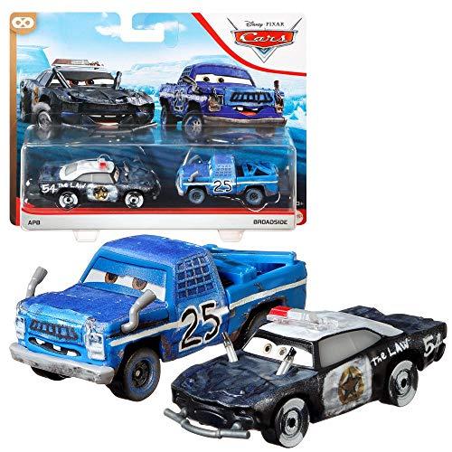 Auswahl Doppelpack | Disney Cars | Fahrzeug Modelle 2020 | Cast 1:55 | Mattel, Typ:ABP & Broadside