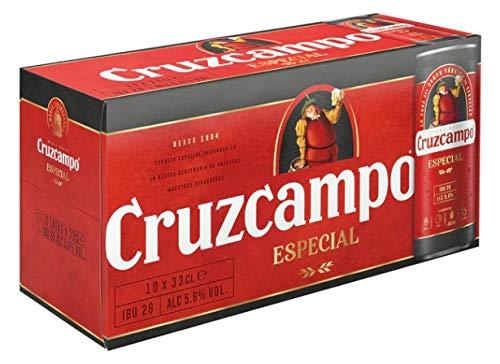 Bier Cruzcampo Spezial 10x33cl (Box 10 Dosen)