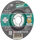 Wolfcraft 1621300 1 Sparpaket Trennscheiben Stein ø 115 x 2.5 x  22.23 mm