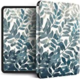 Funda Para Kindle - Abstract Leaf Series Magnetic Smart Cover Para La Nueva Versión De Kindle 658 Soft Auto Wake Up Case 2018 Kindle Paperwhite 4 10Th Generation Cases Shell, Style A, Para Pq94Wif
