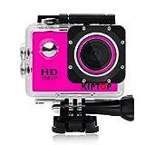 Caméra Sport étanche 1080p