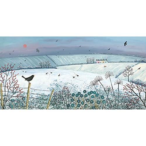 Art Group The Moon River 60x80cm Canvas Print Multi-Colour