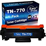 Compatible Toner Cartridge Replacement for TN-770 TN770 for Brother HL-L2370DW MFC-L2750DW HL-L2370DWXL MFC-L2750DWXL Printer (Black, 1-Pack), by EasyPrint