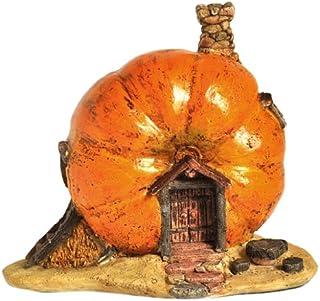 Top Collection Enchanted Story Garden and Terrarium Pumpkin Fairy House Outdoor Decor