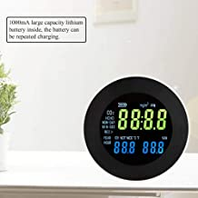 Pangding Carbon Dioxide Detector, CO2 Meter Temperature Hygrometer Digital Portable Analyzer Gas Monitor Tester