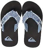 Quiksilver Monkey Abyss Youth, Zapatos de Playa y Piscina Niños, Azul (Blue/Black Xbbk), 30 EU