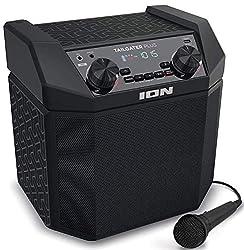 L'amplificateur puissant de 50 W, le woofer robuste, le contrôle Bass Boost et le tweeter à large dispersion offrent un son profond, puissant et vibrant Une connexion Bluetooth sans efforts – Connectez et diffusez votre musique sur la Tailgater Plus ...