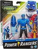 Power Rangers Beast Morphers Figura 15 Cm Beast-X Mode Ranger Azul (Hasbro E7828ES0)