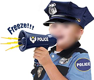 Generic Kids Policemans Megaphone America Firefighter Megaphone for Kids Toy Megaphone Role Play Accessory for Kids Party ...
