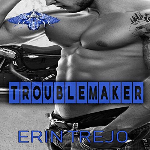 Troublemaker audiobook cover art
