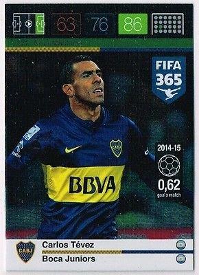 Panini Adrenalyn XL FIFA 365 Carlos Tevez Goal Machine - Tarjeta de intercambio