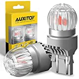 AUXITO LED Brake Light Bulb 7443 LED Bulb Red 7440 7441 7444 W21W T20 LED Replacement Lamp for Stop Brake Tail Light Bulbs, Brilliant Red (Pack of 2)