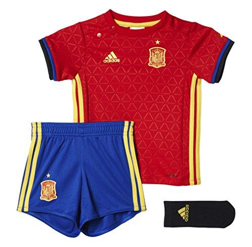 adidas UEFA Euro 2016 Miniconjunto Primera equipación, Unisex niños, Rojo/Azul/Amarillo, 86