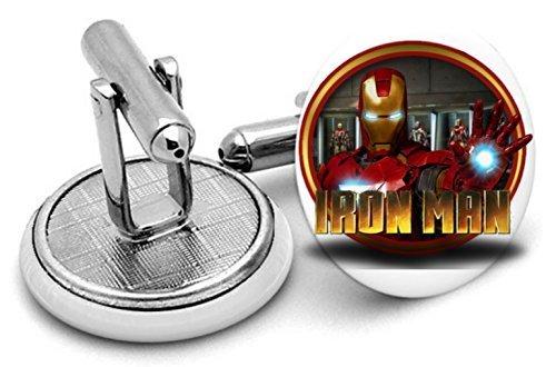 Iron Man boutons de manchette Boutons de manchette – Iron Man Arc Reactor – Superhero IR3