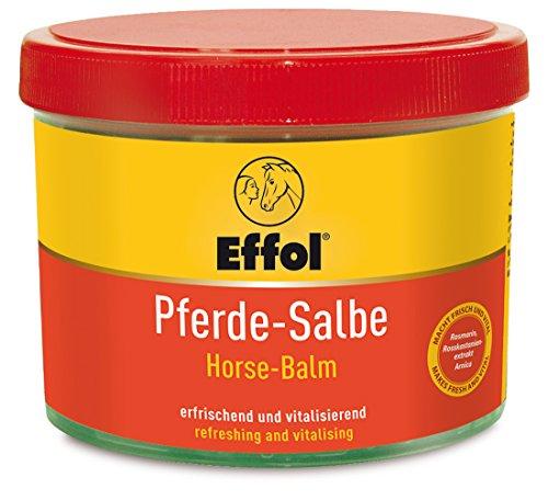 Effol Pferdesalbe, 500 ml entspannt, ist durchblutungsfördernd und aktiviert nach Beanspruchung. Macht frisch und vital bei Muskelkater und Verspannung.
