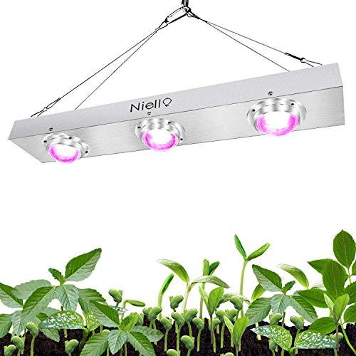 Niello COB LED Grow Light, 600W Luz de Espectro Completo Crecimiento para Plantas de Interior, para hidroponía Sistema de Invernadero para Plantas de Interior para el Crecimiento y la floración