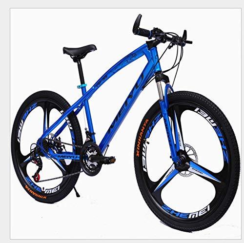 YXWJ 21 bicicletas de velocidad 24 Velocidad 27 Montaña velocidad Con 26 pulgadas marco de pata de cabra del freno de disco Tenedor de suspensión de 3 ruedas de radios for adultos onlyroad Vehículos a