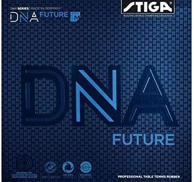 STIGA Unisex's DNA Future M Black Limited time sale Tennis Seattle Mall 2.1 Rubber Table 2 1