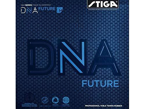 Stiga Unisex-Adult DNA Future M Tischtennis Beläge, Black, 2.1