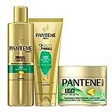 Pantene Pro-V Miracle Shampoo Protezione Cheratina Lisci Effetto Seta per Capelli Secchi, ...