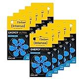 60x Intenso Energy Ultra Hörgeräte Batterie PR44 blau - Typ 675, 10x 6er Blister, 7504446MP