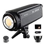 GODOX SL-200W LED Luz Video 200W Foco Led 5600K Gran Potencia Bowens Mount para fotográfico Estudio Video Youtube Video Foto Studio(SL200W LED Light)