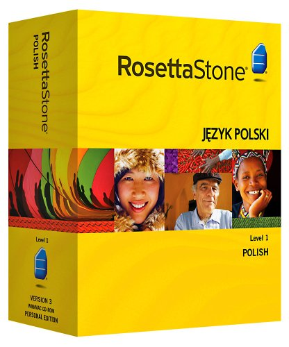 Rosetta Stone Version 3: Polish Level 1 with Audio Companion