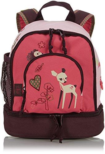 LÄSSIG Zainetto per bambini per Asilo o Tempo Libero con Cintura Toracica/ Mini Backpack, Little Tree Fawn