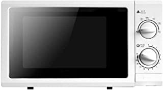 Stainless Steel Microwave Oven 20L Mechanical Turntable 220V-50HZ, 7000W, White