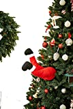 "Mr. Christmas 62106 Indoor/Outdoor Animated Christmas Kickers 24"" - Santa Holiday Decoration, One Size, Multi"
