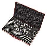 Sealey AK3076 - Set professionale di maschi e filiere per filettare, sistema metrico, 76 p...