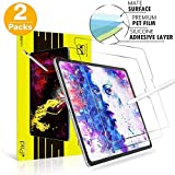 New iPad Pro 12.9 Screen Protector Paperlike,Habyby iPad Pro 12.9 2020/2018 Matte PET Film,[Paperlike Film Writing] [Compatible with Apple Pencil] Paperlike Film High Touch Sensitivity-2 Pack