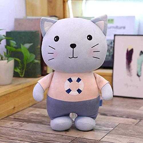QINGK El Juguete de Peluche Raton Cat Puppy Cat and Mouse Series Doll es de 60 cm como Regalo de cumpleaños Qingluan Qingluan