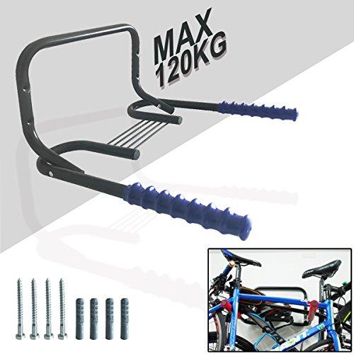 Cycle Storage 2/3 Bikes Wandmontiertes Lagerregal, Home Wall Mounted Faltrad / Fahrrad / Cycle Storage Mount Rack FüR Fahrrad-Speicher, Garage Oder Und Fahrrad Einzelhandel Displays. Stark, Langlebig