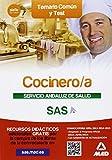Cocinero/a del Servicio Andaluz de Salud. Temario común y test (Andalucia (mad))