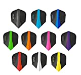 PerfectDarts 5 x Sets Harrows Retina Mixed Colour Dart Flights Standard