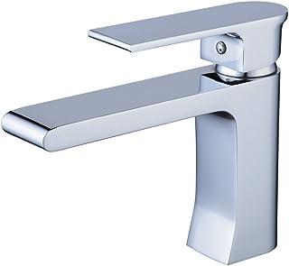 Sponsored Ad – Modern Basin Mixer Tap Single Handle 1 Hole Mount Bathroom Sink Tap Chrome Finish Contemporary Gudetap GT7508C
