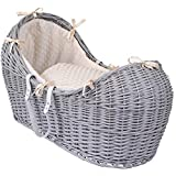 Clair de Lune Dimple Grey Wicker Noah Pod