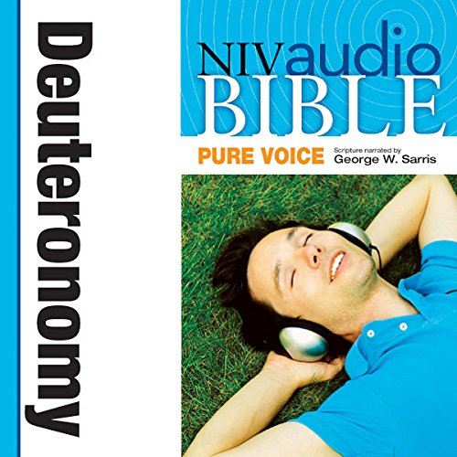 Pure Voice Audio Bible - New International Version, NIV (Narrated by George W. Sarris): (05) Deuteronomy audiobook cover art