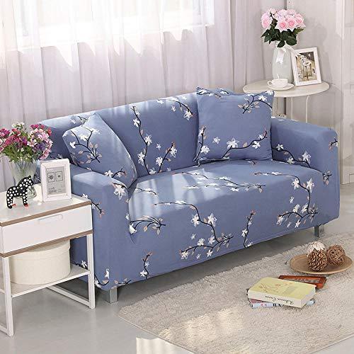 Allenger Cubierta para sofá con Cuerda de fijación,Funda elástica para sofá, Funda Antideslizante para sofá Todo Incluido, Protector de sofá para Sala de Estar y cafetería-C8_145-185cm