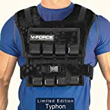 V-Force 60 Lb Weight Vest - Made in USA - Typhon Edition - All Weights Included