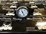 MacDaddy Racing Yamaha Raptor 660 Coolant Temperature Gauge (Black)